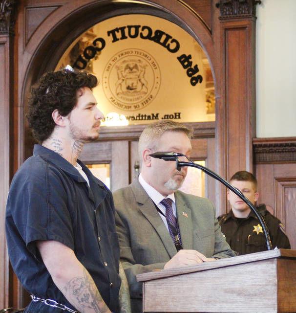 Man who brandished handgun pleads guilty