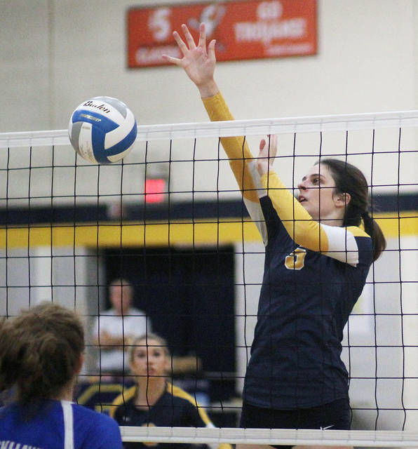 VOLLEYBALL: Errors doom Owosso in loss to Brandon