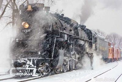 North Pole Express whistles in holiday season