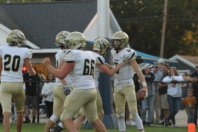 Corunna recovers to pound Owosso, 49-6