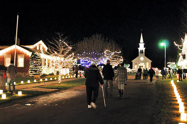 Corunna set to shine with light parade, festival of treets