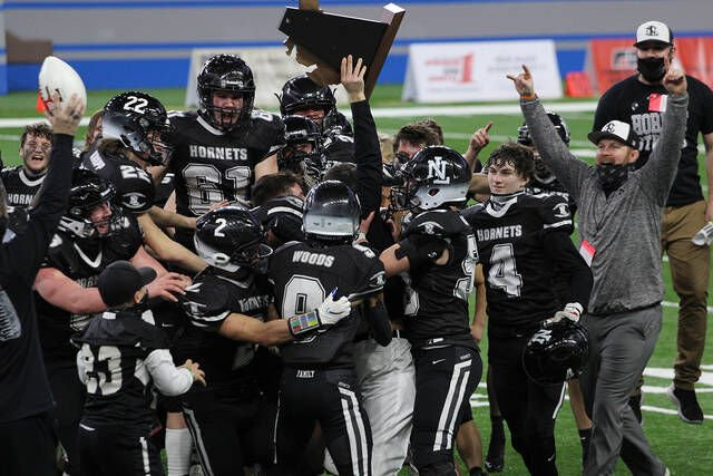 'Adapt and Overcome': New Lothrop's state football title run of 2020-1