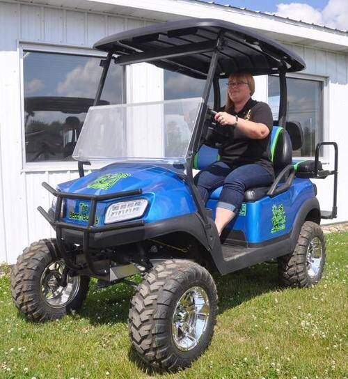 Fore! Owosso gives golf carts OK to play through