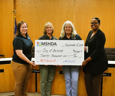 City of Durand receives $20,000 from state