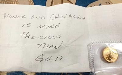 Golden good deed