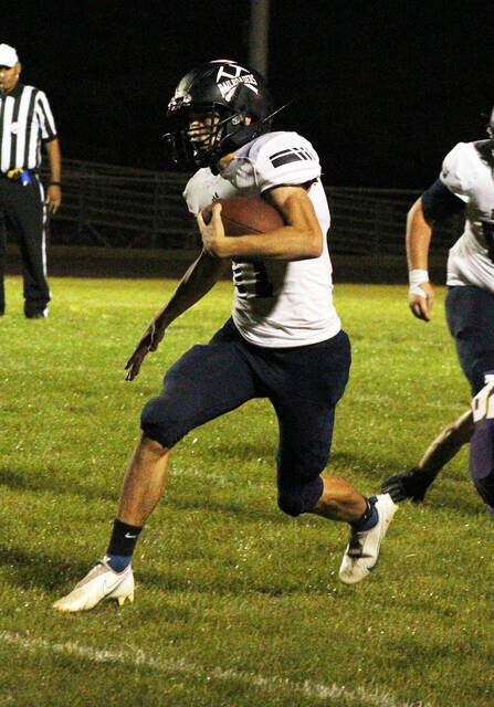 Durand steamrolls Byron for 53-0 victory