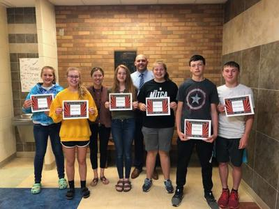 MORRICE STUDENTS OF THE MONTH