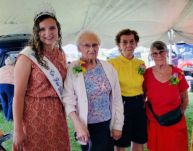Oldest senior citizens honored at fair