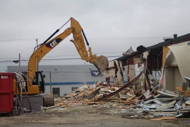 Former Ponderosa torn down