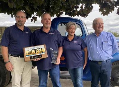 Davis Cartage employee wins Driver of the Year award
