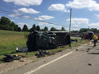 Friday crash leaves three injured   Local News   argus-press com
