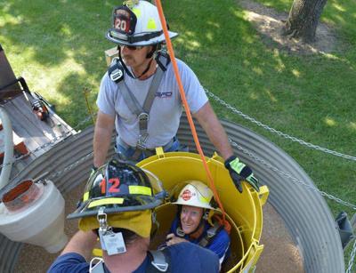 Elsie Fire Department receives grant for grain rescue