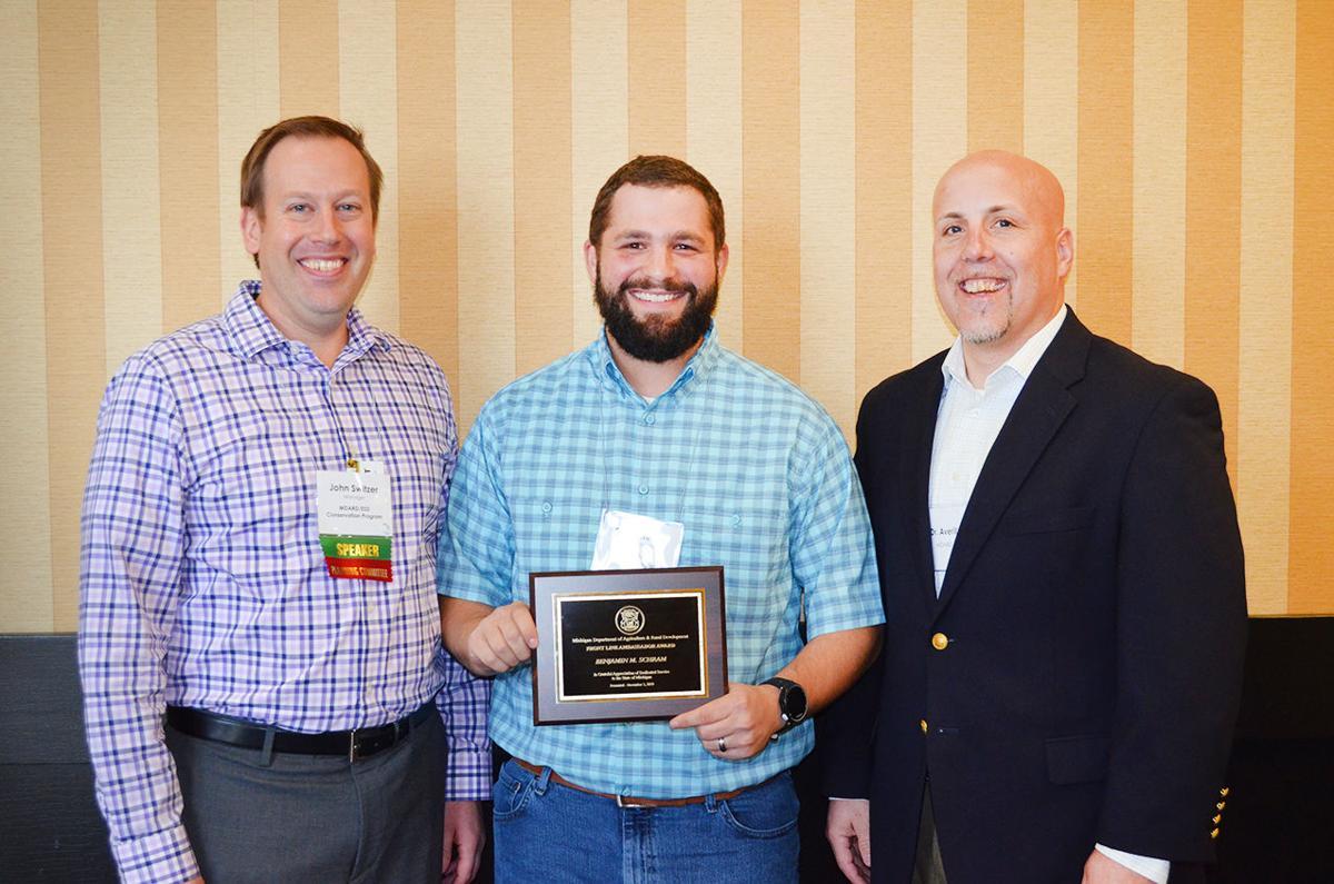 Laingsburg forester receives state award