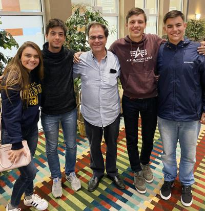 One-time exchange student visits current Owosso students