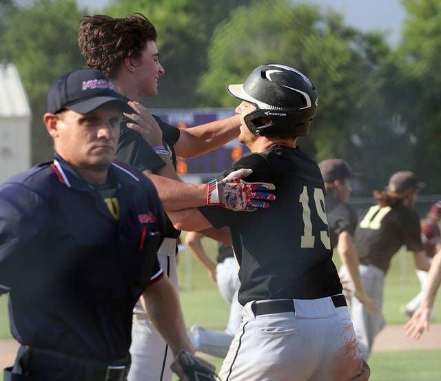 BASEBALL: Darling's walk-off hit stuns No. 3 Eaton Rapids
