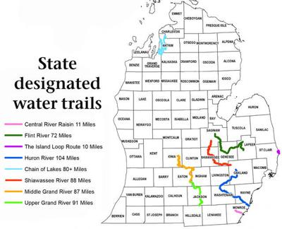Shiawassee River named water trail by DNR