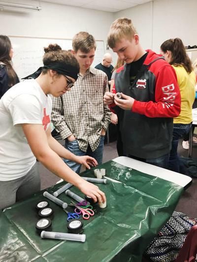 Fingerprint techniques taught in RESD program