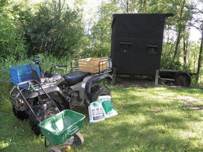 WUNDERLICH: Multiple tools ease construction of food plot