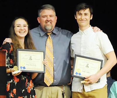 Laingsburg band honors students