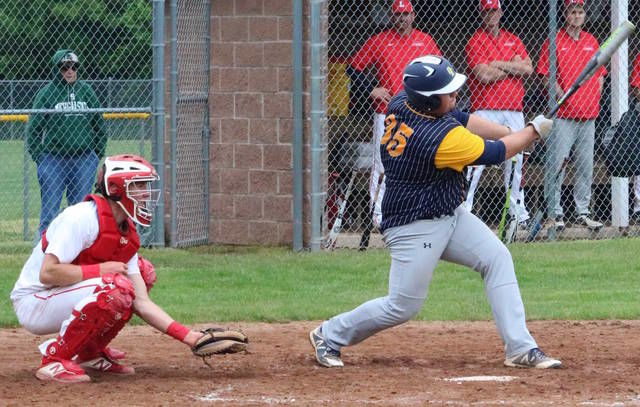 BASEBALL: Wolfpack edge Marauders 5-4 in pre-districts
