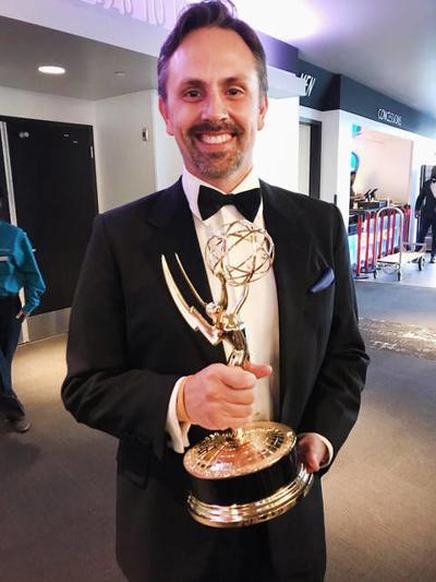 Owosso native wins Emmy Award