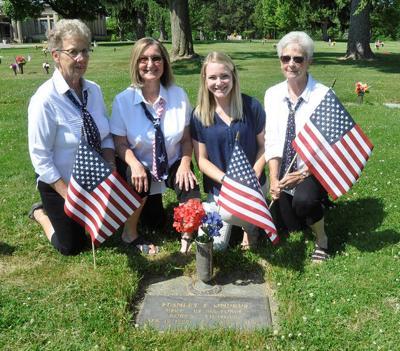 Veterans get their due with marker installation