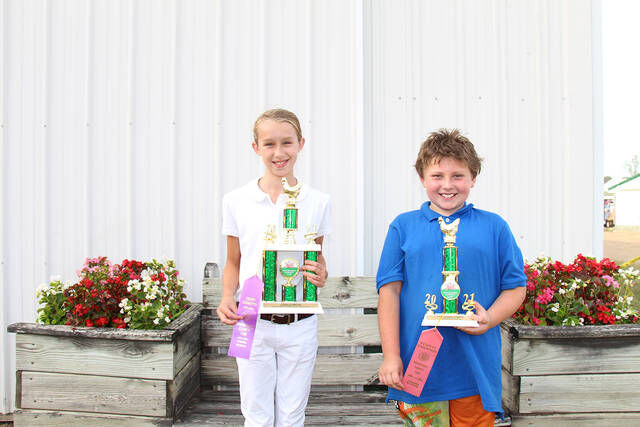Youth and open poultry champions announced