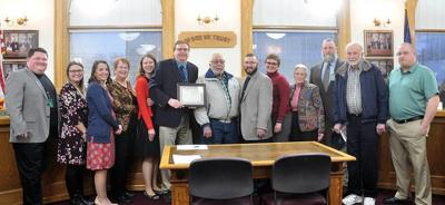 Health department honored for perfect score