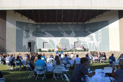 Cook Foundation holds scholarship event at ampitheater