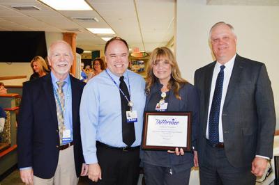 Memorial employee recognized