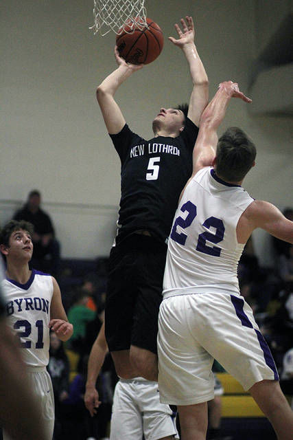 BOYS BASKETBALL: New Lothrop rolls past Byron; unbeaten showdown vs. O-E up next