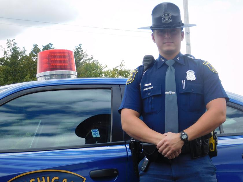 Msp Trooper Wins Award For Saving Local Man Shiawee Area Argus Press