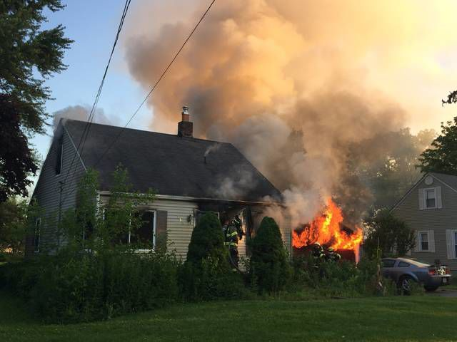 Owosso Twp. home suffers fire damage