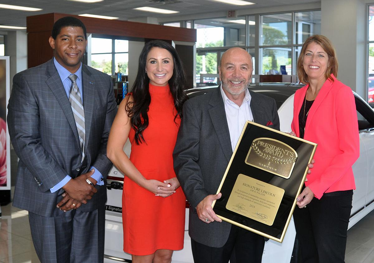 Signature Auto Group >> Signature Auto Group Receives Lincoln President S Award