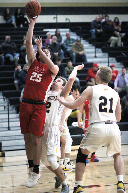 BOYS BASKETBALL: Leykauf scores 1,000th point, Perry beats Owosso 63-36