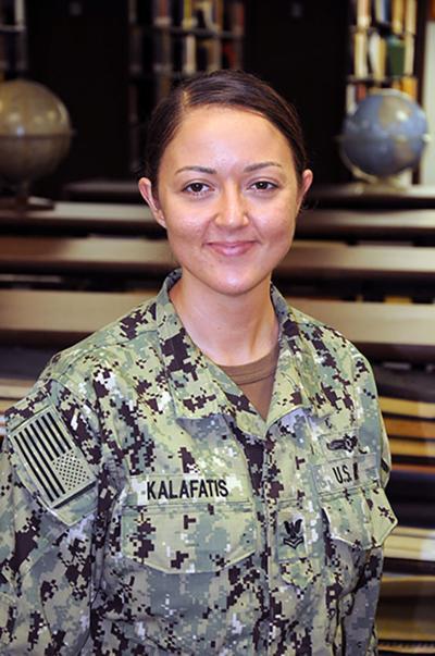 Petty Officer 2nd Class Natalie Kalafatis
