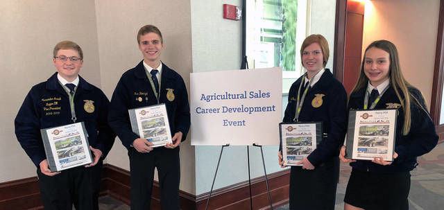 Perry FFA members receive awards at national convention