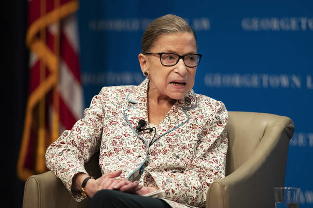 Analysis: Is Ginsburg using words carefully?