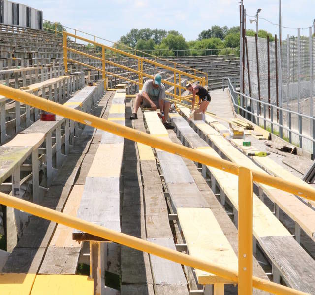 AUTO RACING: New Owosso Speedway owners race to make improvements