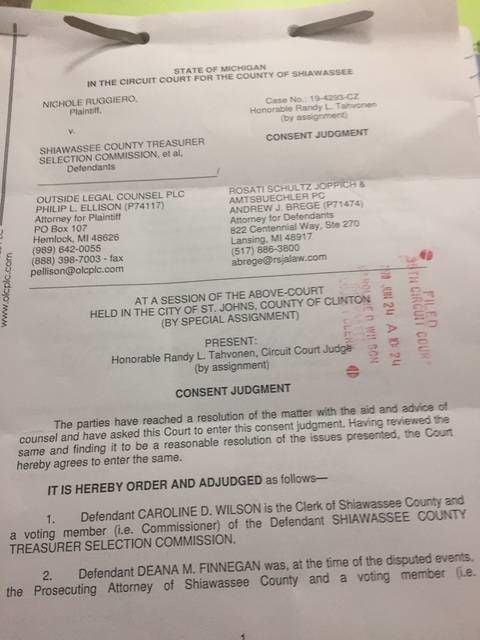 Judge: Treasurer selection committee violated Open Meetings Act