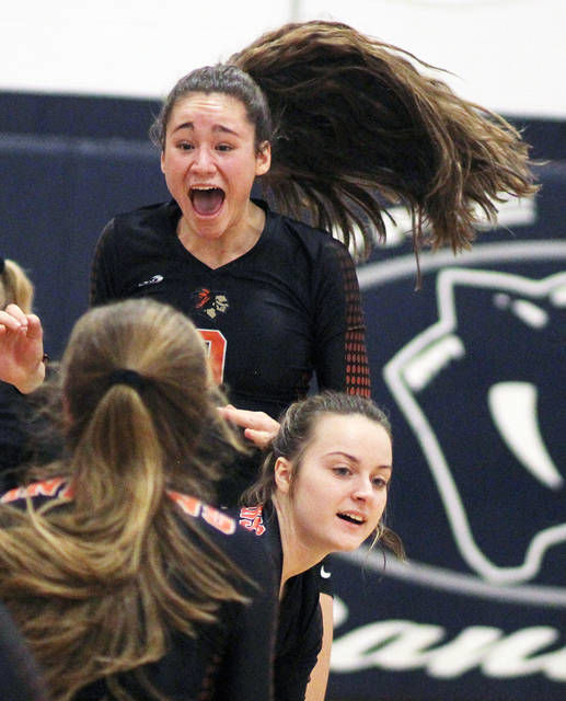 VOLLEYBALL: Chesaning beats Clio to earn spot in district title game; Owosso falls