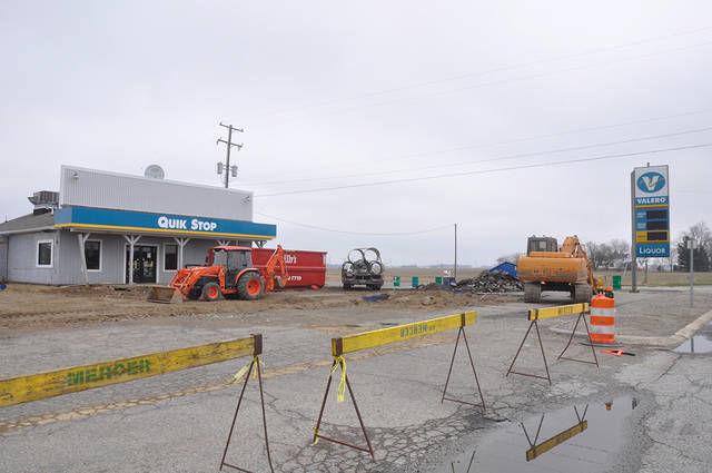 Valero station undergoing renovations