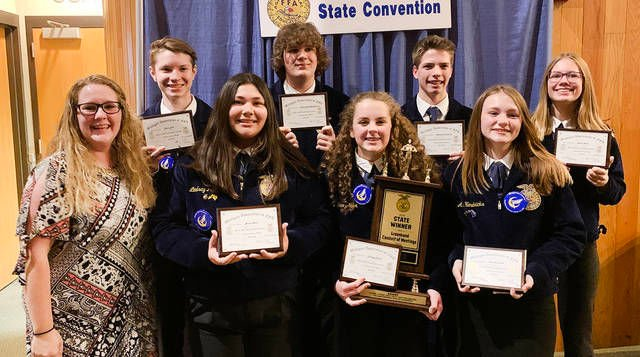 Perry students take part in state FFA convention