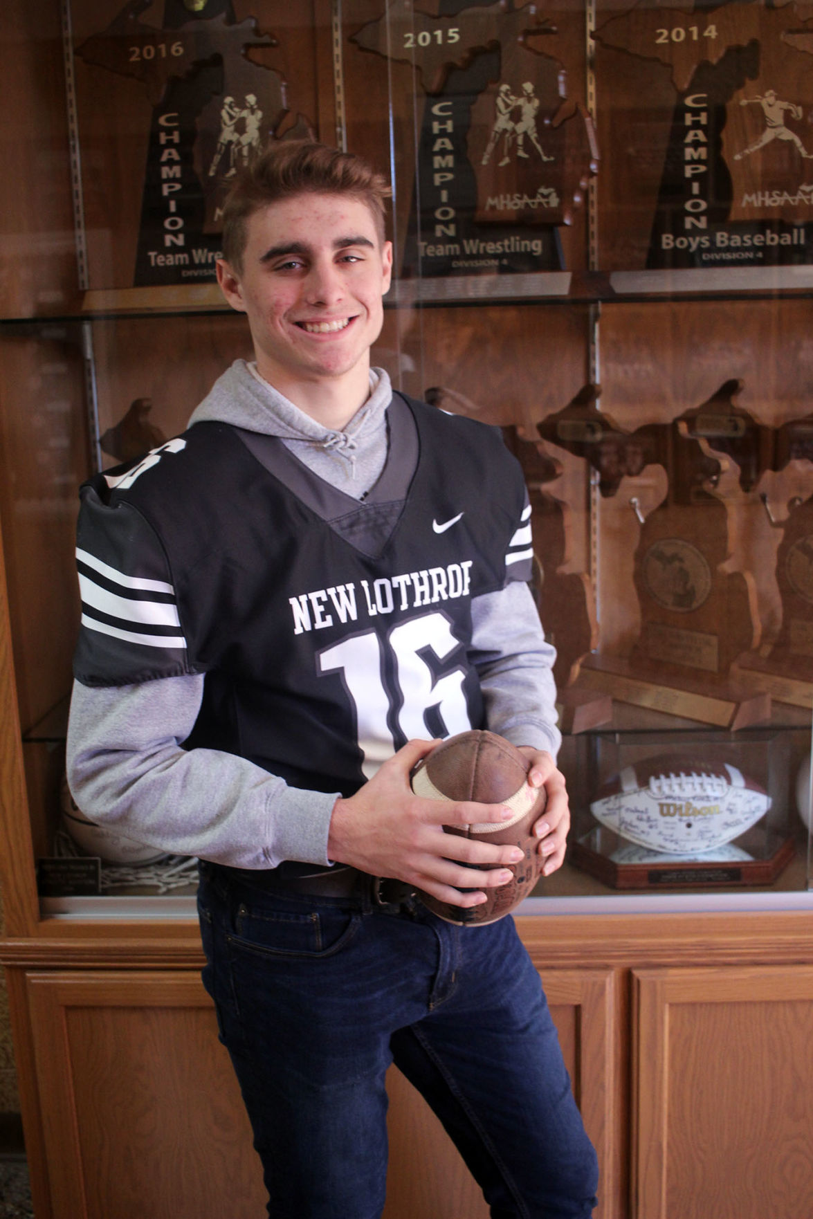 National City Auto Center >> ALL-AREA FOOTBALL: Avery Moore rewrites New Lothrop record ...