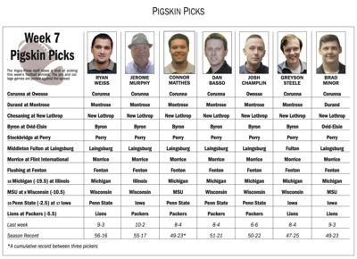 Picks Week 7