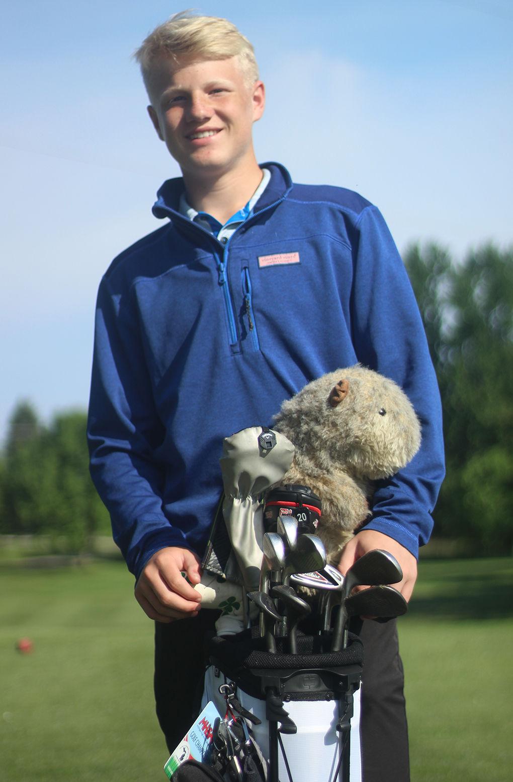 ALL-AREA GOLF: Super Sophomore— Laingsburg's Zach Koerner named Golfer of the Year