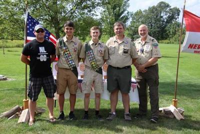 N.L. Troop announces pair of Eagle Scouts