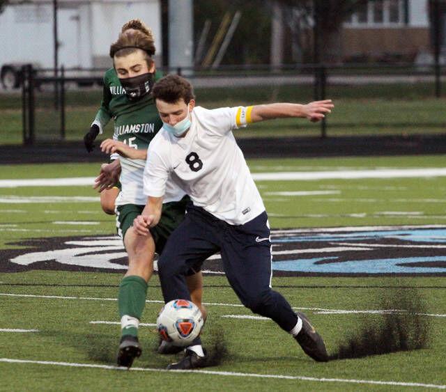 Ovid-Elsie soccer team falls in district