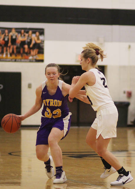 GIRLS BASKETBALL: Byron wins MMAC outright after three straight split titles