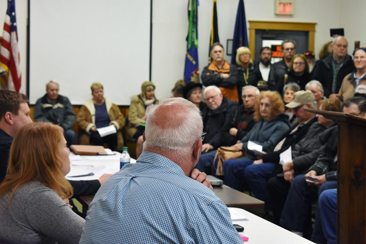 Burns Twp. residents speak out